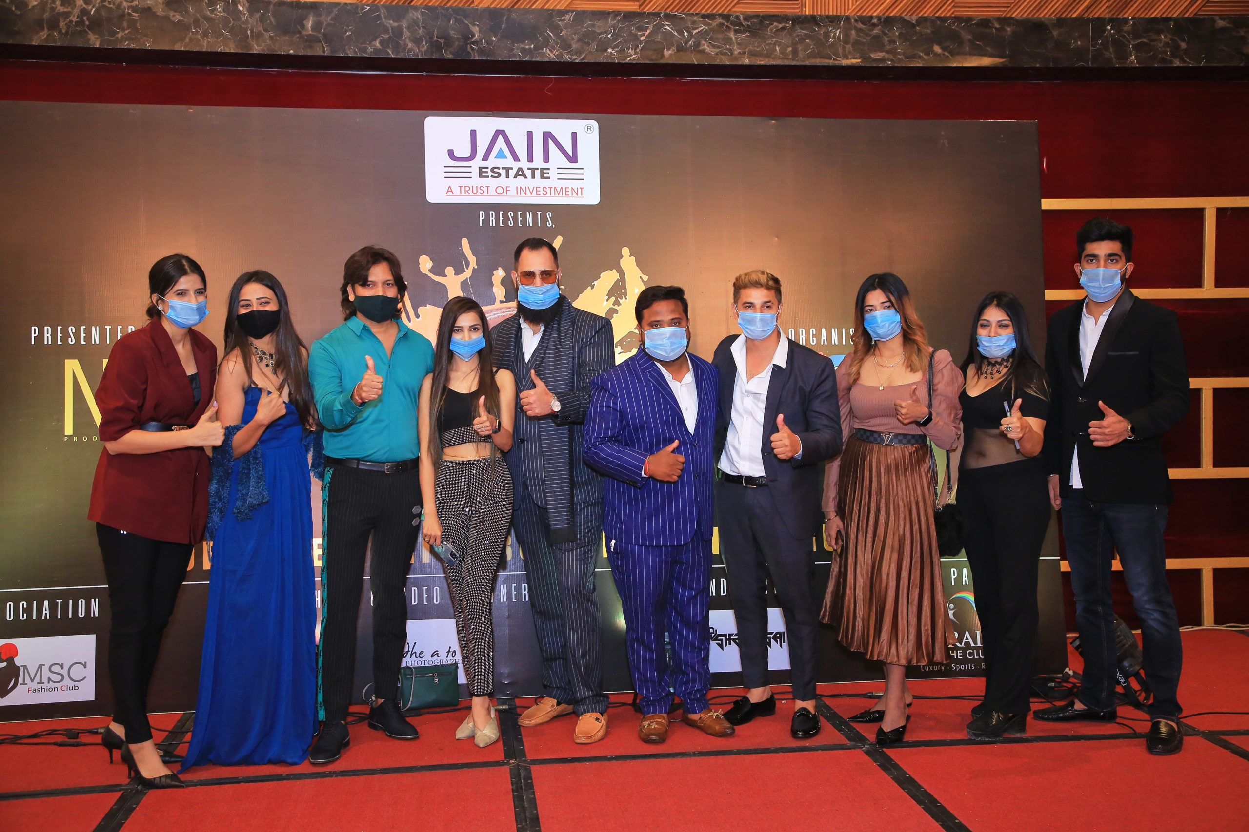 A grand launching ceremony was held at Paraizo Club for the upcoming Surat Celebrity Box Cricket League.
