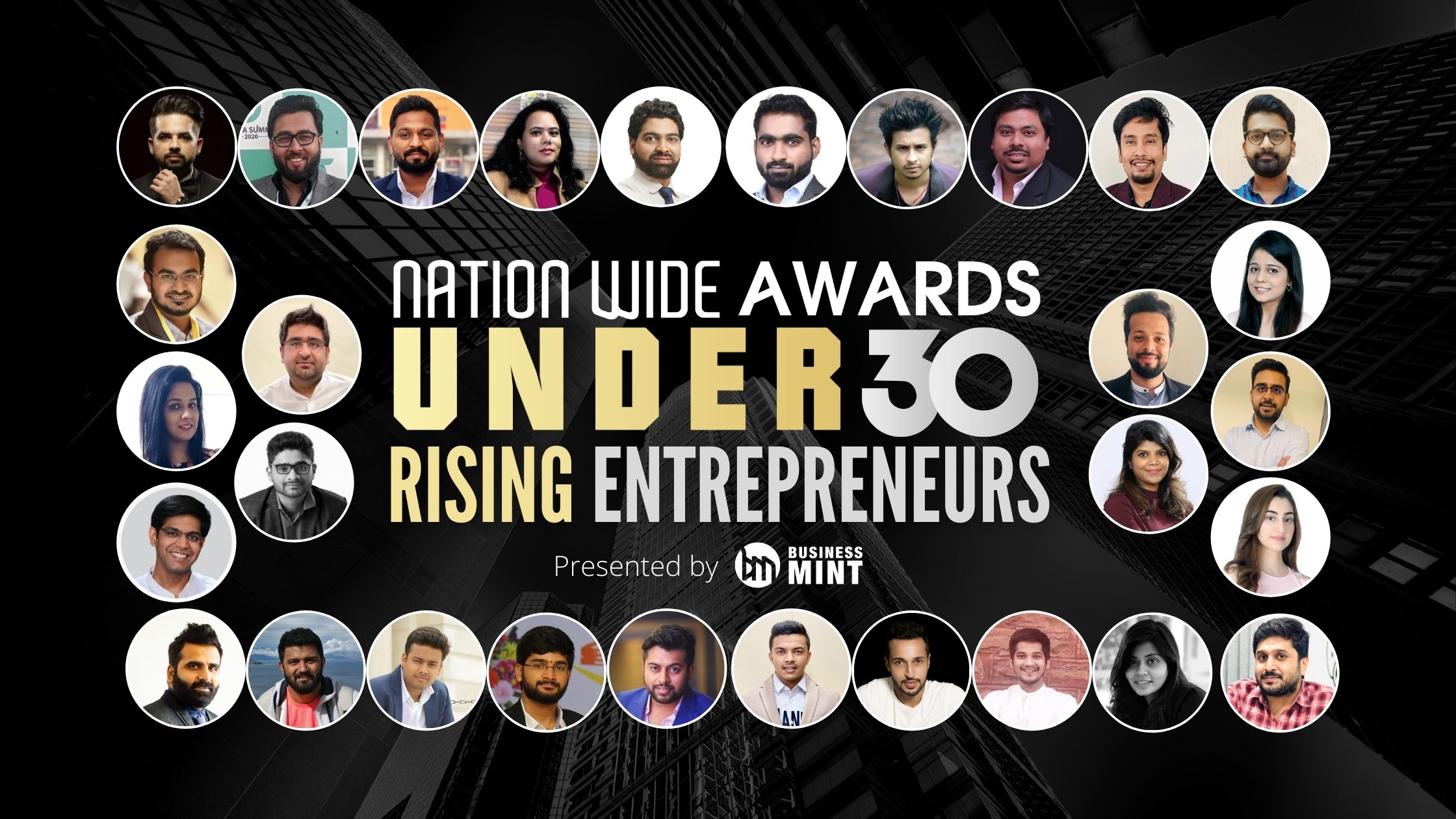 Business Mint Announce the Winners of the Nationwide Awards under 30 – Rising Entrepreneurs– 2021