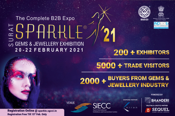 After Covid-19, the first synthetic diamond will be promoted across the country will in 'Sparkle' organized by the SGCCI.
