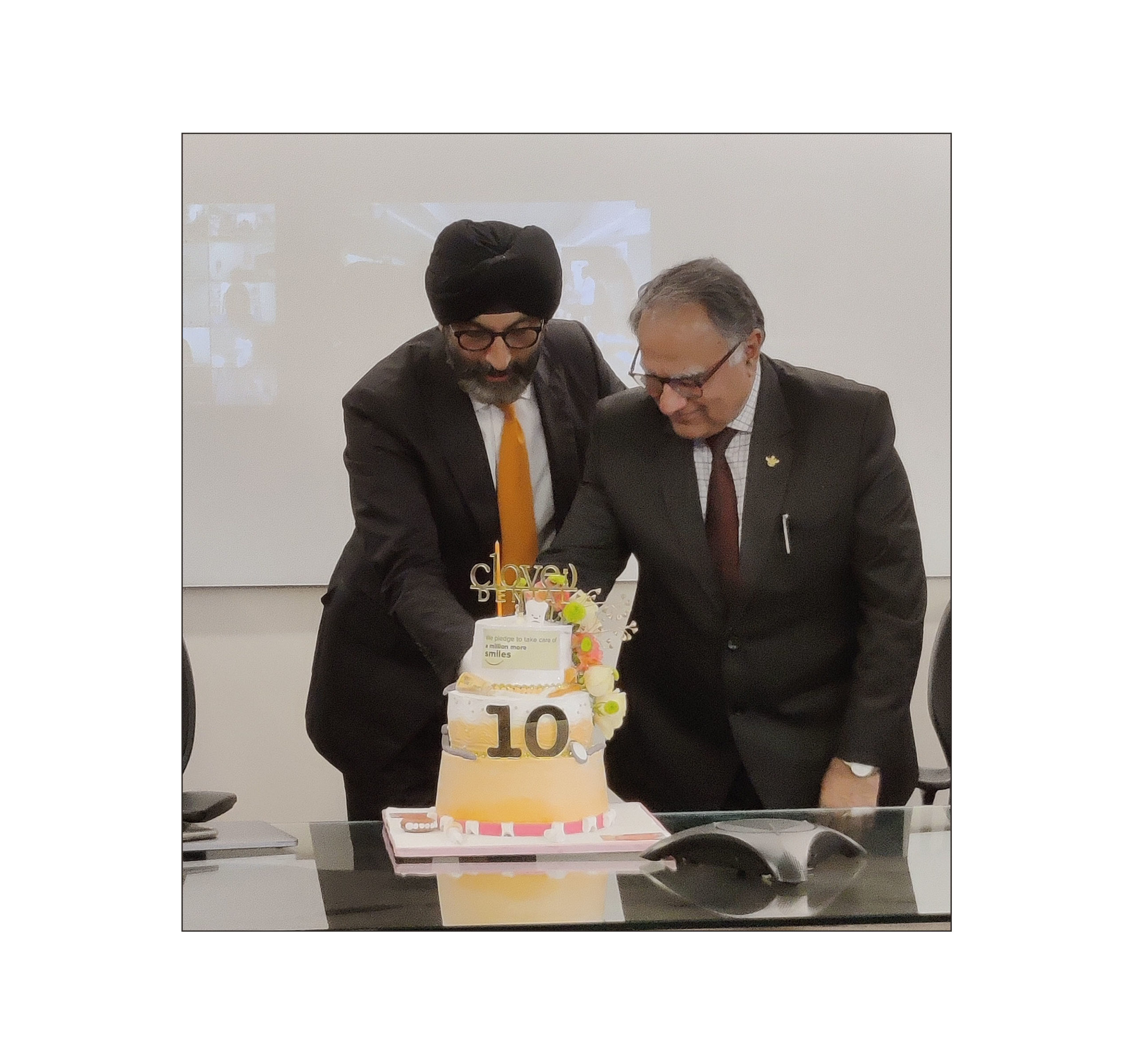 Clove Dental, India's Largest Dental Group, celebrates 10 Yearsof Dedicated Serviceto over10 lakh patients