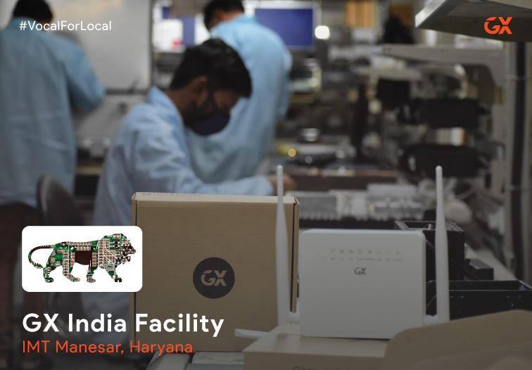 GX announces Netherland Government supported India facility to manufacture FTTH GPON equipment