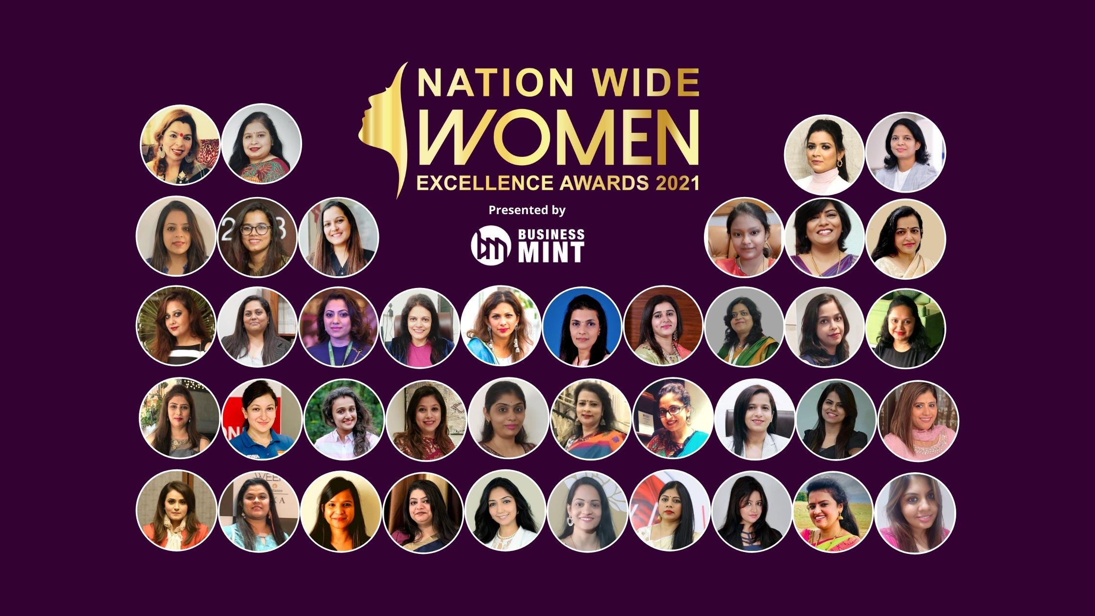 Business Mint Presents Nationwide Women Excellence Awards – 2021 on International Women's Day