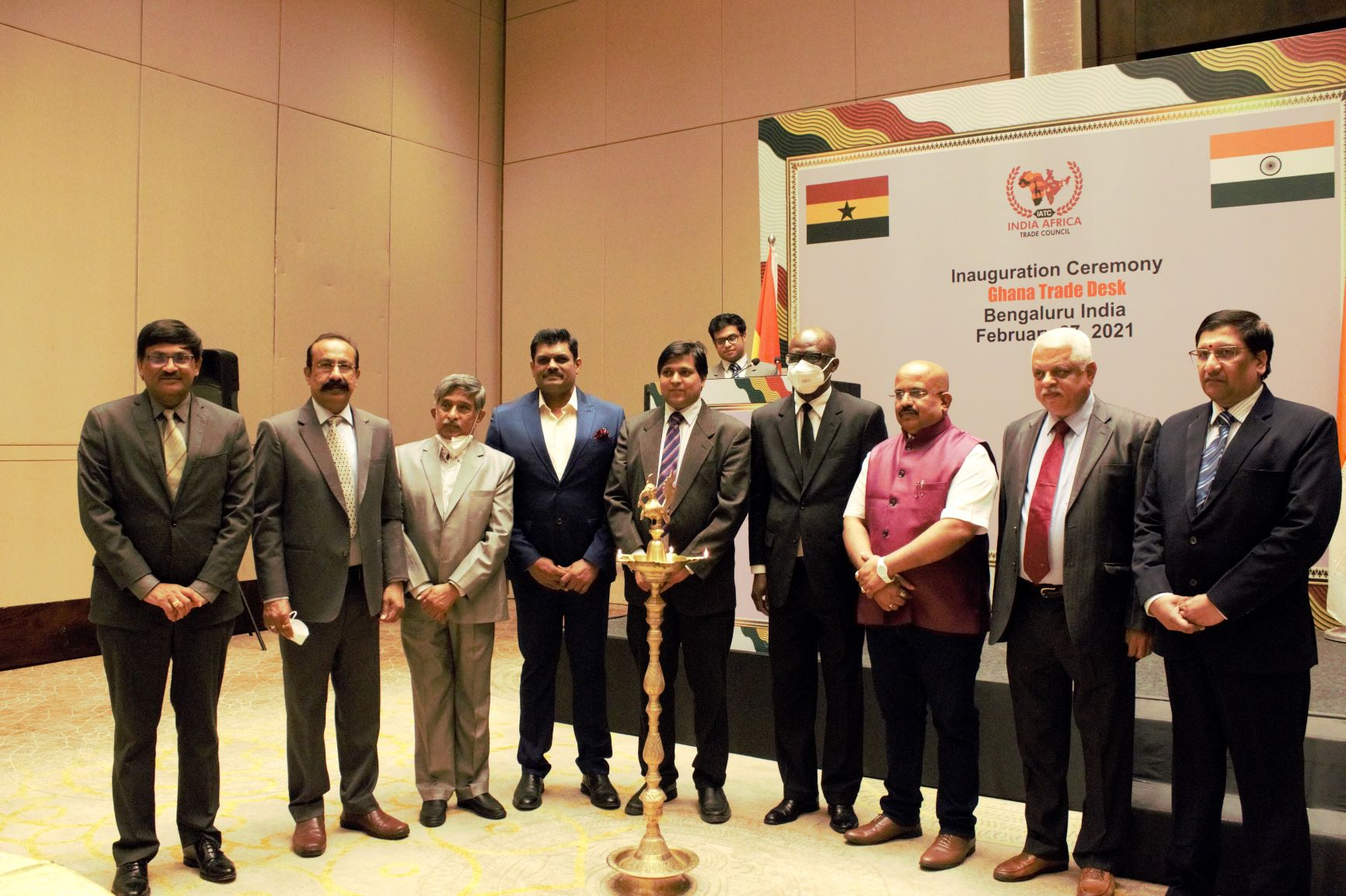 GHANA OPENS TRADE DESK IN SOUTH INDIA