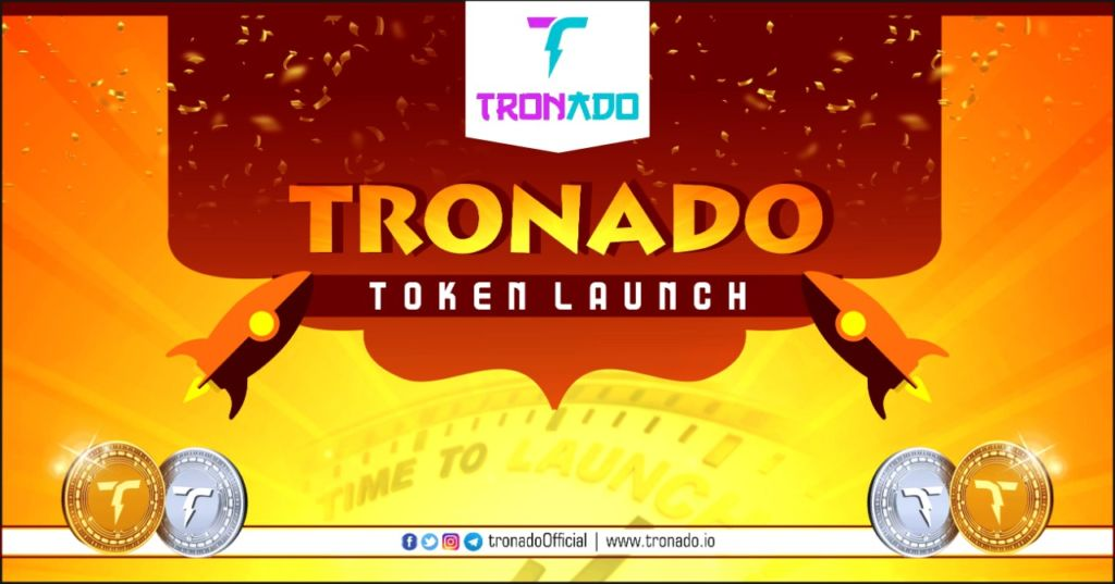 TRONADO – Fastest Growing Crypto Community giving away up to $10000