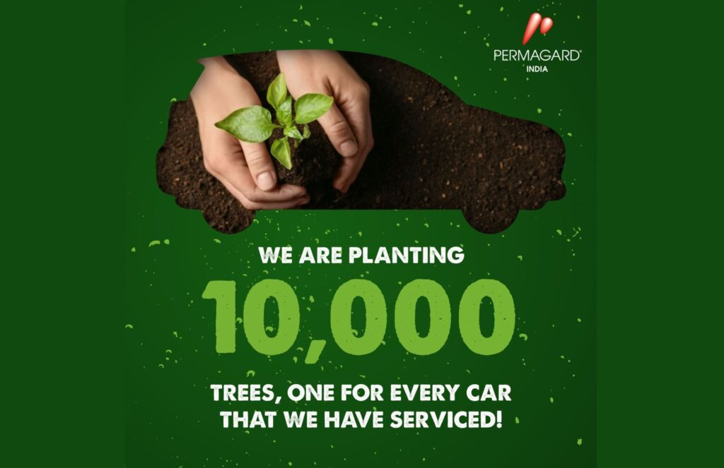 Permagard India pledges to plant 10,000 Trees across the country as part of its Commitment to Environment.