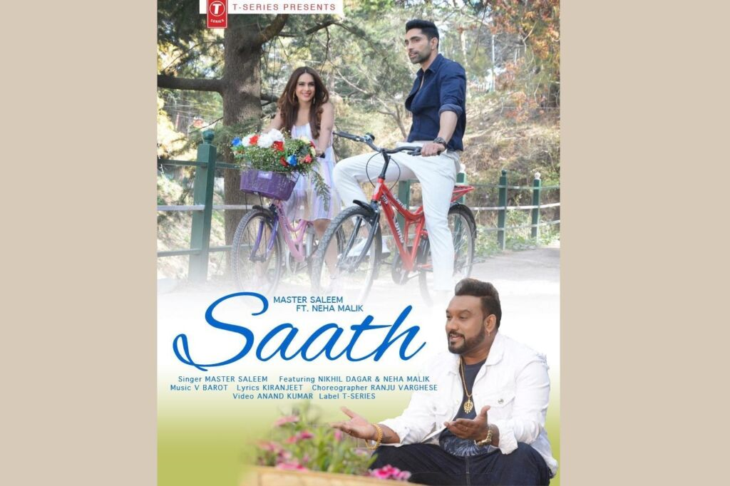 Master Saleem's new song 'Saath' to releases on 20th July, Neha Malik and Nikhil Dagar's sizzling chemistry is unmissable