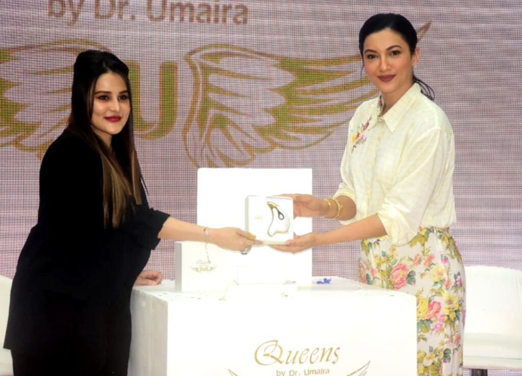 Bollywood Actress Gauahar Khan Launches 'Queens lift', a Premium Skincare Product by Dr. Umaira
