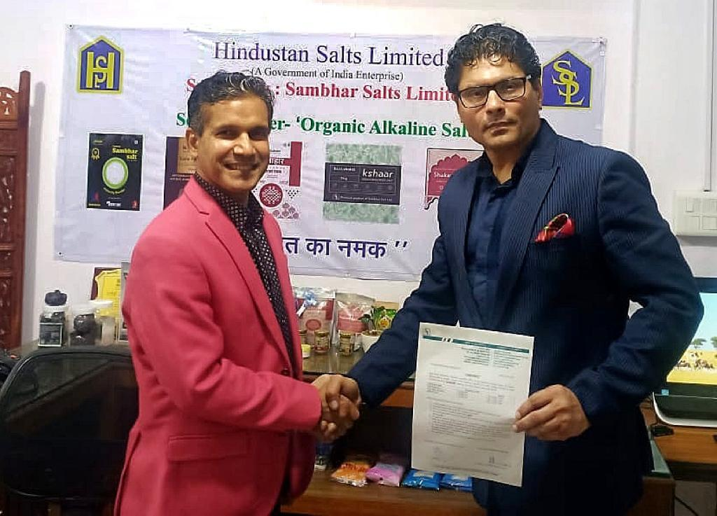 Libas Consumer Products Ltd Signs Contract with Govt of India owned Hindustan Salts Ltd