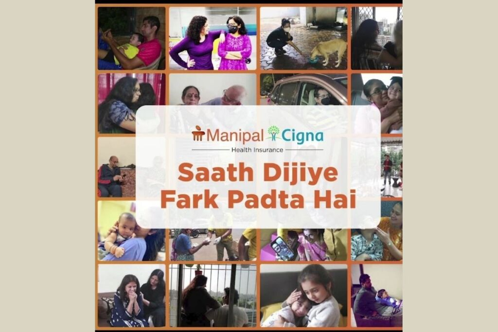 ManipalCigna Health Insurance launches the 'SAATH DIJIYE' campaign, to encourage acts of kindness amid difficult times