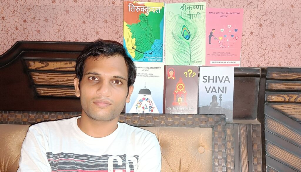 Nilesh Kumar Agarwal Is Now Ranked Among the Top Ten Mythological Authors in India