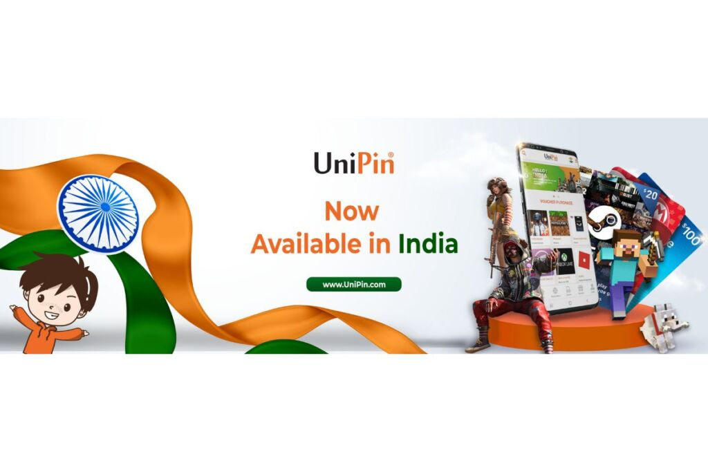 UniPin, the Leading Digital Entertainment Enabler, is Now Available in India