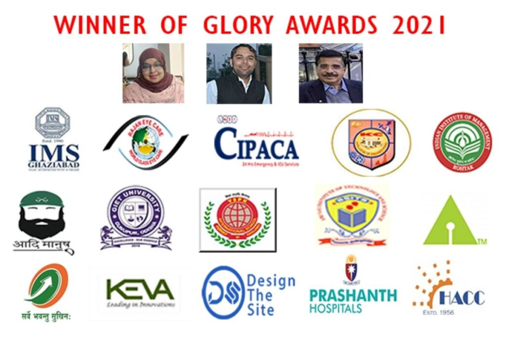 Worldura Research & Media Acknowledged and Felicitated the Winners of GLORY Awards 2021